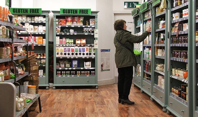 Evolv Shop View Food Drink Customer