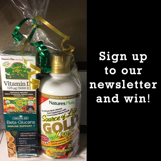 Sign up to win!