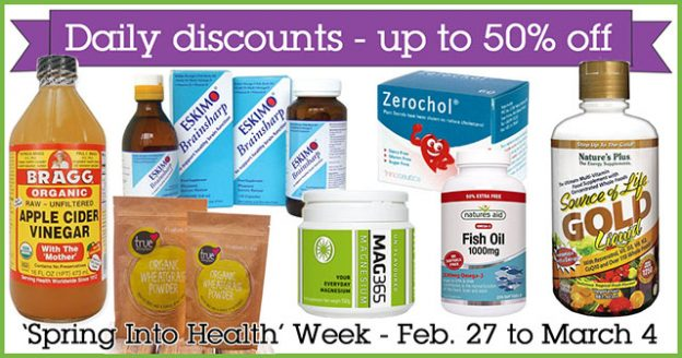'Spring Into Health' Week Daily Discounts