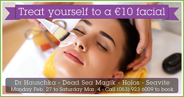 Treat yourself to a €10 facial