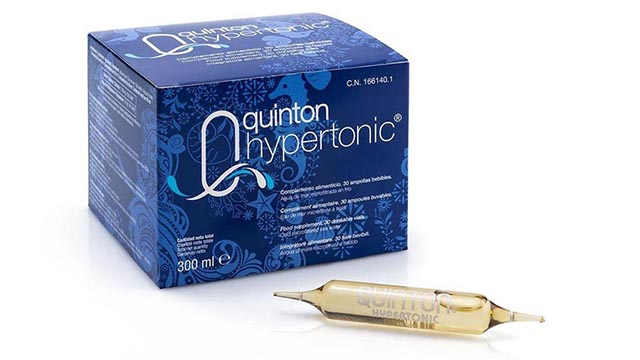 Quinton Hypertonic – The natural goodness of sea water minerals