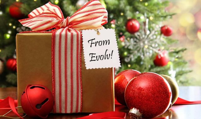 Christmas Gifts at Evolv – CLICK FOR IDEAS