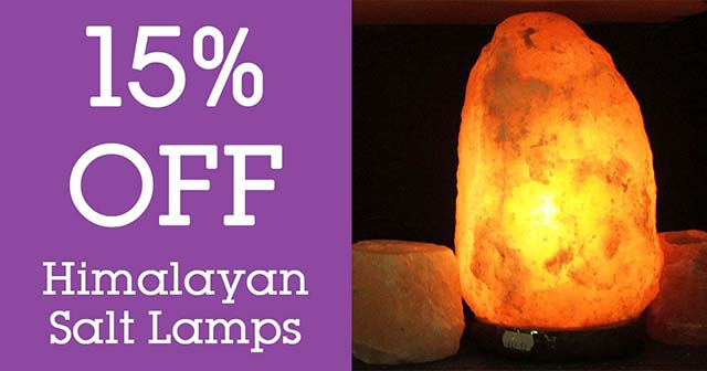 salt lamps 15 off