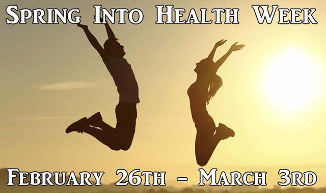 Spring Into Health Week 2018