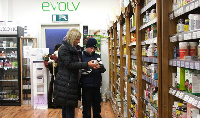 Evolv Shop View Supplements Customers
