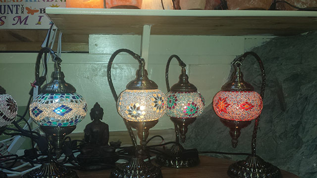 20% off ALL Turkish Mosaic Lamps