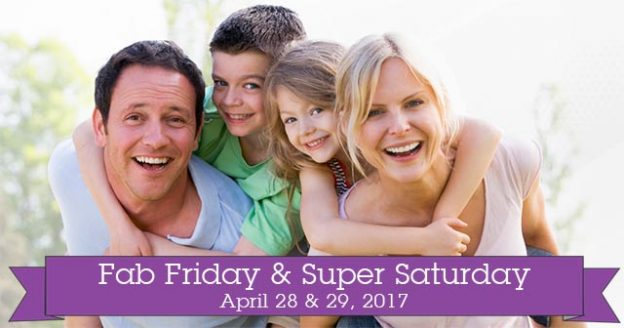 April's Fab Friday & Super Saturday at Evolv