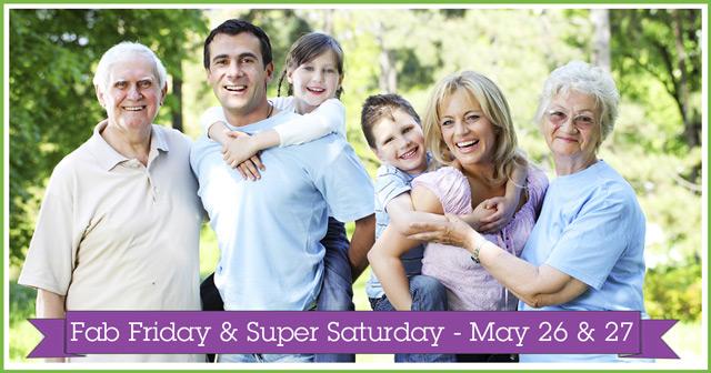 May's Fab Friday & Super Saturday at Evolv
