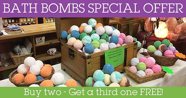 bath bombs offer