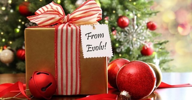 Christmas Gifts at Evolv