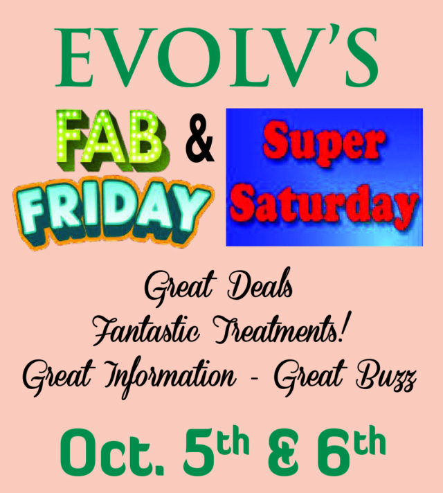 Fab Friday & Super Saturday October Deals!