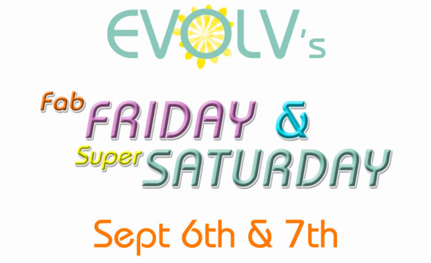 Fab Friday & Super Saturday – September Deals!