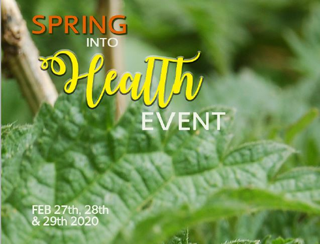 Spring into Health Event 2020